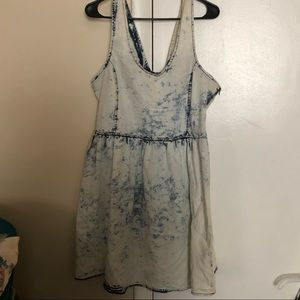 RUE21 stone washed skater dress